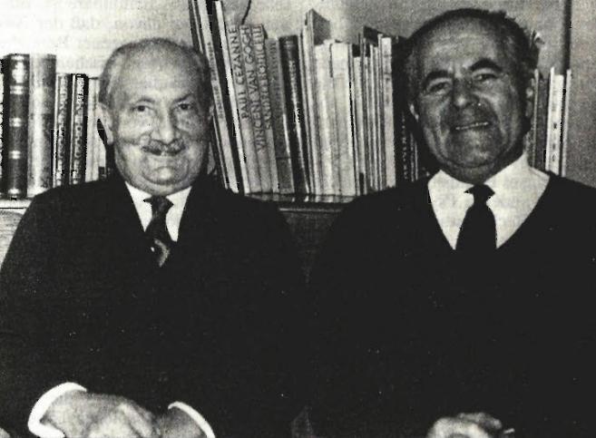 Martinas Heideggeris ir Medardas Bossas