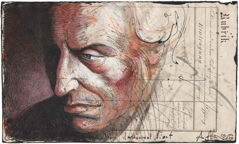 Immanuelio Kanto portretas
