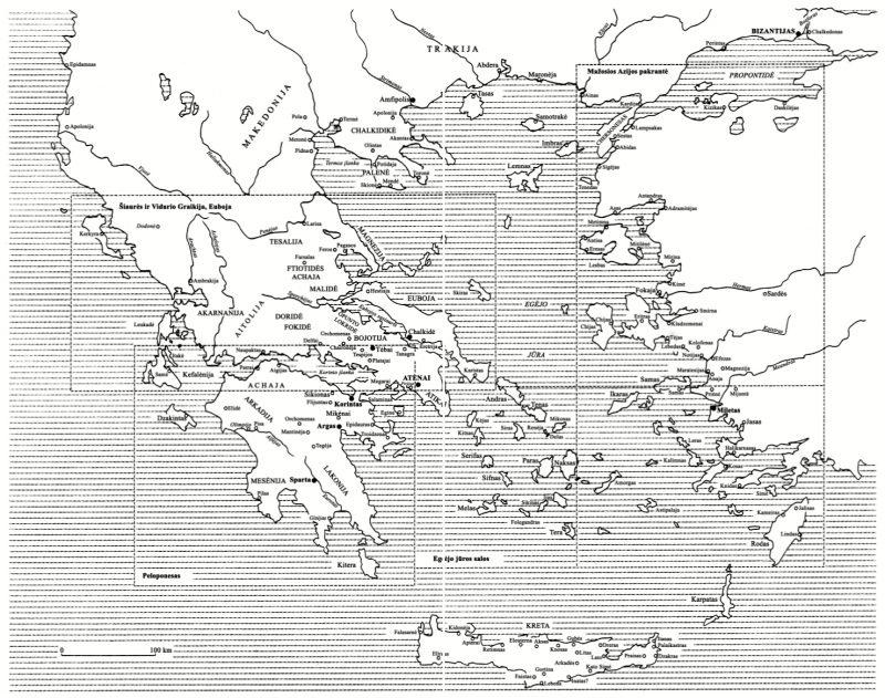 Graikijos regionai ir poliai