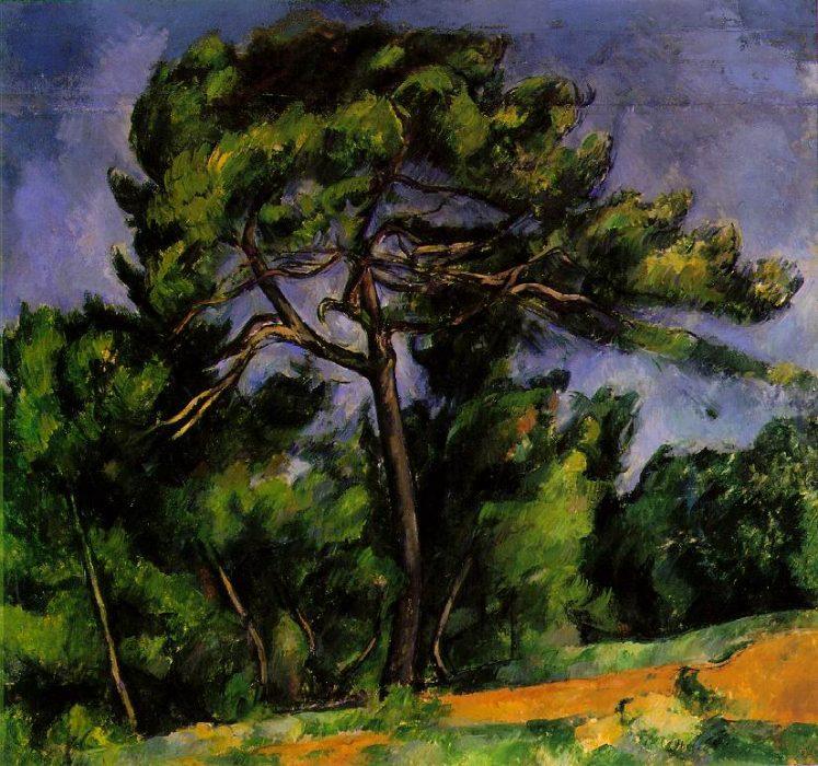 Paul Cézanne. Didžioji pušis (1892)