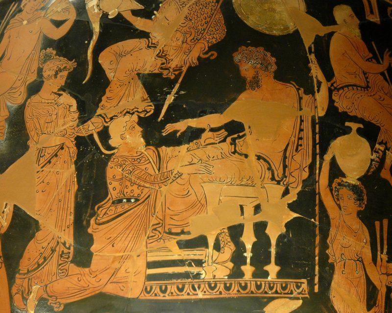 Apolono žynys Chrisas ir karalius Agamemnonas