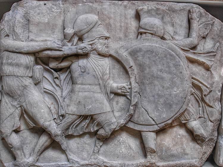 Graikų hoplitų susirėmimas