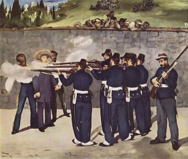 Maksimiliano egzekucija