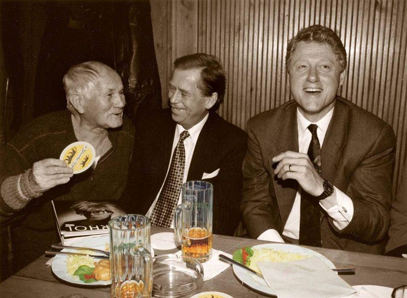 Hrabal, Havel, Clinton